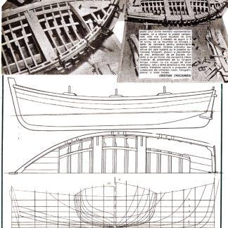 Boat Mediterranian ship model plans