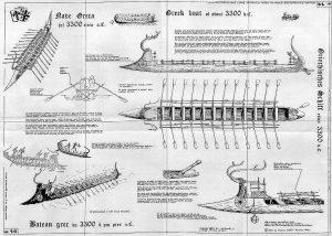 Boat Of War (Dorian) Bc1200 ship model plans