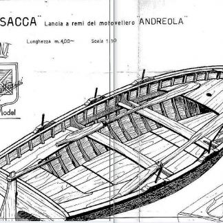 Boat Risacca ship model plans