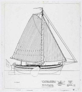 Boeier Catharina 1904 ship model plans
