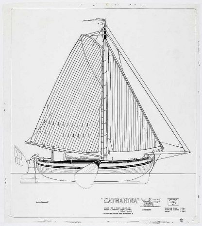 Boeier Catharina 1904 ship model plans