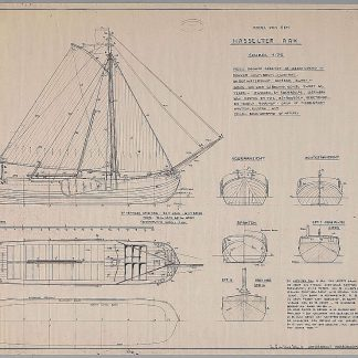 Boeier Hasselter Aak ship model plans