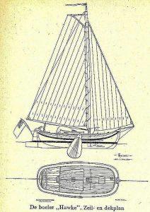 Boeier Hawke XVIc ship model plans