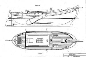Boeier Yacht XXc ship model plans