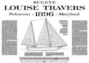 Bugeye Louise Travers ship model plans