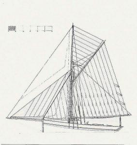 Cutter Dundee ship model plans