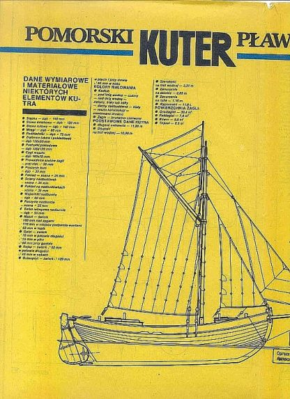 Cutter (Pomeranian) XIXc ship model plans