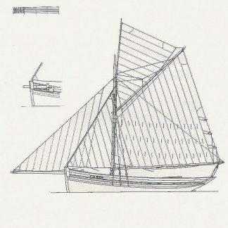 Cutter Revo ship model plans