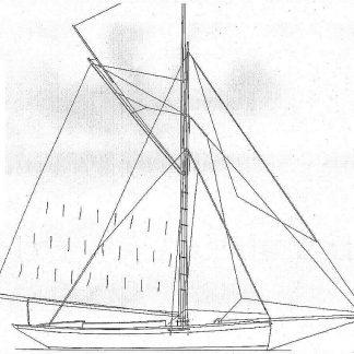 Cutter Vagrant 1884 ship model plans