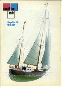 Cutter Viking 17m 1921 ship model plans