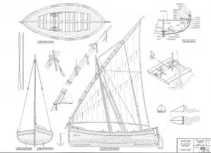 Fishing Boat Juana Y Jose ship model plans