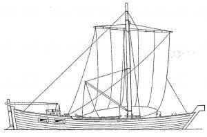 Fishing Boat Koch 1640 ship model plans