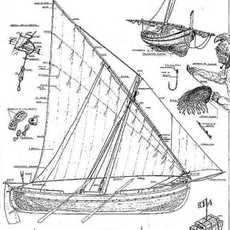 Fishing Boat Palangre Airosa ship model plans