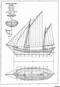 Fishing Boat Rias Baixas ship model plans