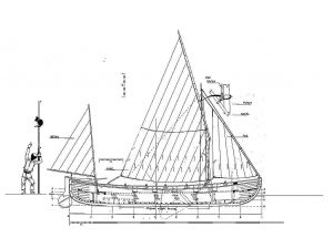 Fishing Boat Whealer ship model plans