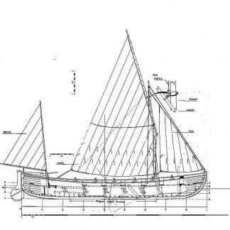 Fishing Boat Whealer ship model plans
