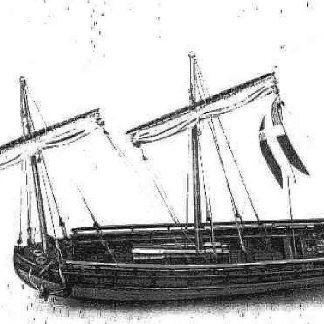 Gunboat (Swedish) ship model plans