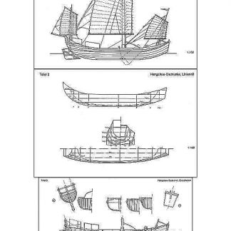 Junk Chinese ship model plans