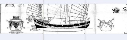 Junk Pirate Chinese XVIIc Ver1 ship model plans