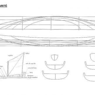 Sailboat Brazilian Igarite ship model plans