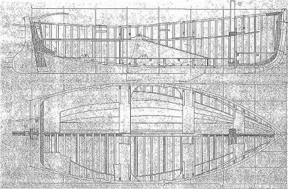 Sailboat Lagoas 1995 ship model plans