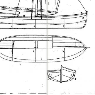 Sailboat Lancetta ship model plans