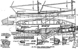 Sailboat Mkm 355 Orel XXc ship model plans