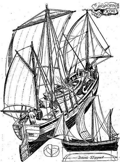 Sailboat Schifetto Carlofortino ship model plans