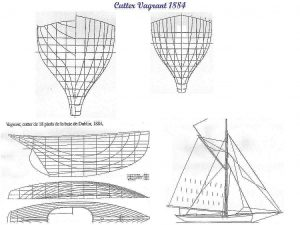 Sailboat Ushkui ship model plans