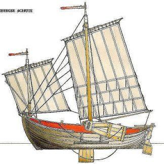 Sailboat Venetian Sanpierota ship model plans
