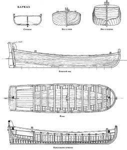 Section Deck ship model plans