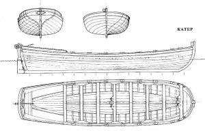 Ships Boat Barzha ship model plans