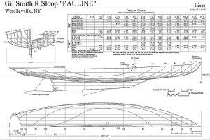 Sloop P Boat Kid ship model plans