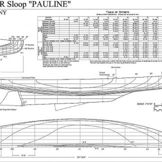 Sloop P Boat Kid ship model plans