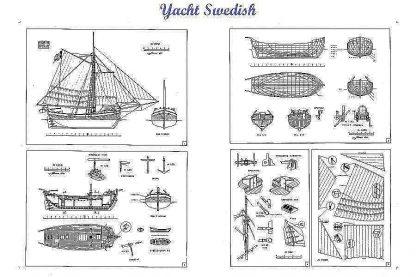 Sloop Skipjack E C collier ship model plans