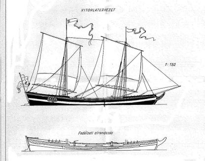 Trading Vessel Bragazza Phoenix 1795 ship model plans
