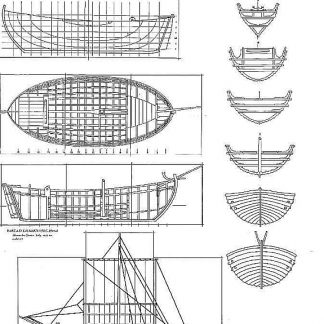 Trading Vessel (Sweden) XIIIc ship model plans