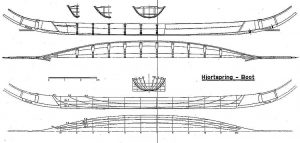 Viking Boat (Hjortspring) Bc IIIc ship model plans