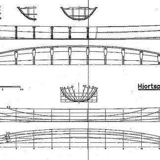 Viking Boat (Hjortspring) Bc IIIc ship model plans