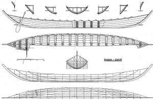 Viking Boat (Nydam) IVc ship model plans