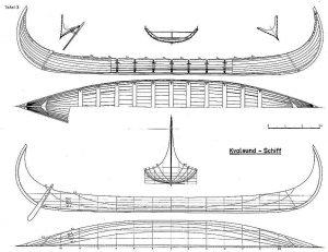 Viking Longship (Kvalsund) VIIIc ship model plans