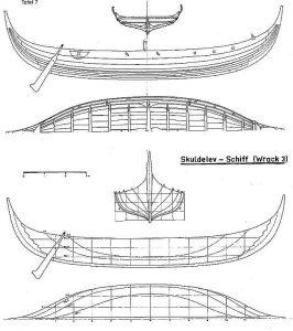 Viking Trading Vessel (Skuldelev 3) XIc ship model plans