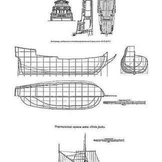 Yacht Grobe XVIc ship model plans