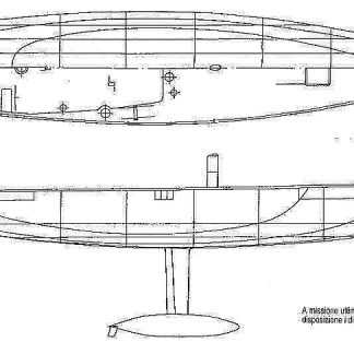 Yacht Luna Rose 2003 ship model plans