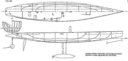 Yacht Luna Rose 2003 ship model plans