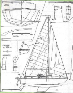 Yacht Mis XXc ship model plans