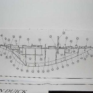Yacht Pen Duick 1960 ship model plans