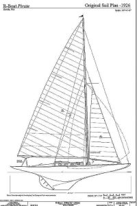Yacht R Boat Pirate 1926 ship model plans